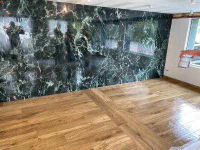 Réfection de l'espace showroom de l'entreprise à ST ARNOULT