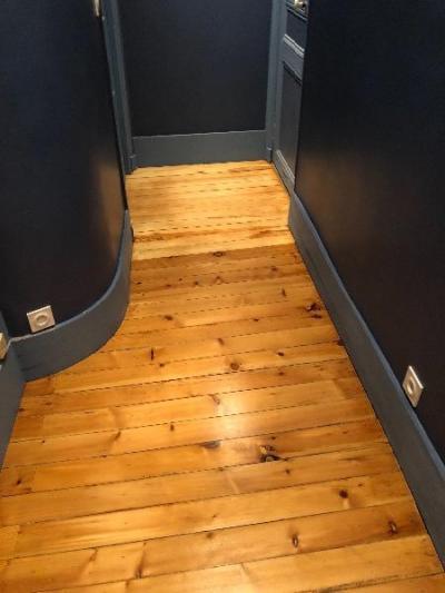 rénovation et décoration d'un couloir dans un appartement à Trouville s/mer 14360