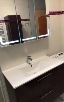 Création d'une salle de douches à l'italienne à DEAUVILLE 14800