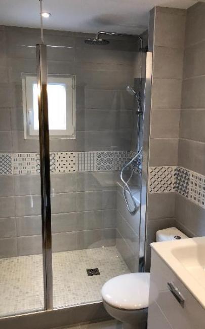 rénovation et agencement d'une salle de douche honfleur 14600
