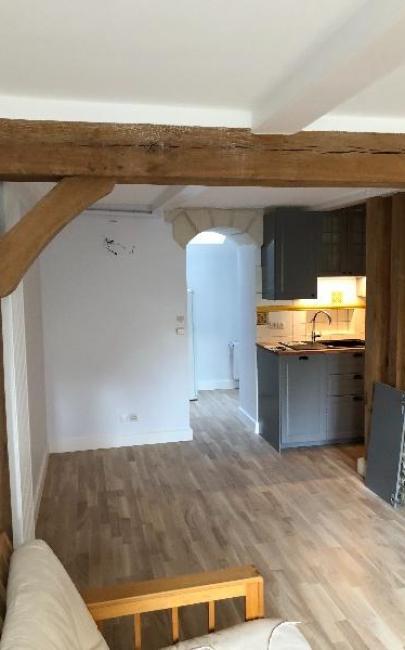 Rénovation et décoration du rez de chaussée  d'une maison à TROUVILLE SUR MER 14360