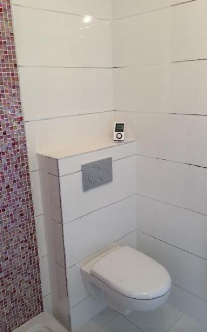 Rénovation d'une salle de douches à SAINT-ARNOULT 14800