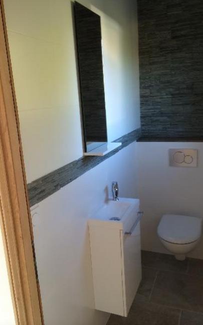 Rénovation de deux toilettes à DEAUVILLE 14800