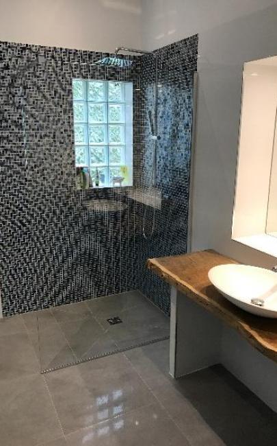Création d'une salle d'eau à TROUVILLE SUR MER 14360