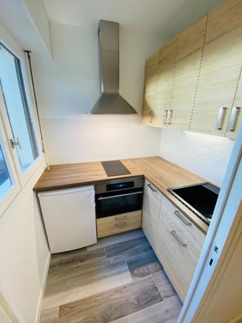 Rénovation d'une cuisine dans un appartement à TROUVILLE  SUR MER 14360