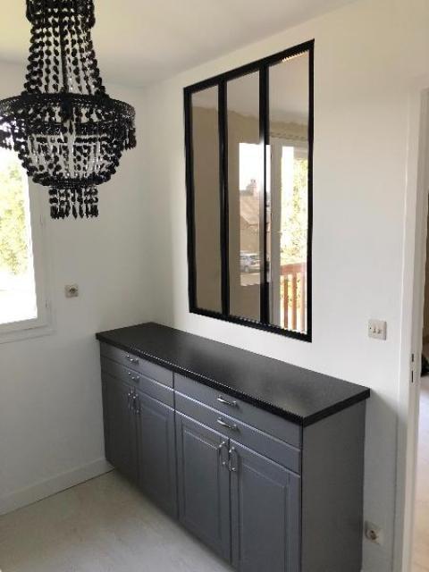 Rénovation et décoration d'une c uisine dans un appartement à TOUQUES 14800
