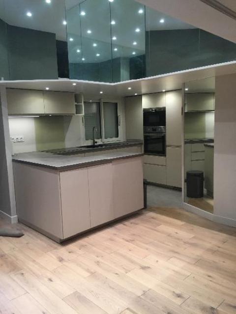 Rénovation complète d'une cuisine dans un appartement à DEAUVILLE 14800