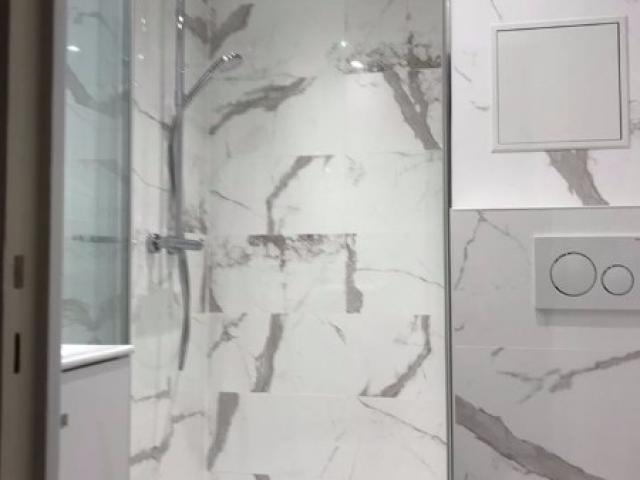 rénovation et agencement d'une salle de douche DEAUVILLE 14800