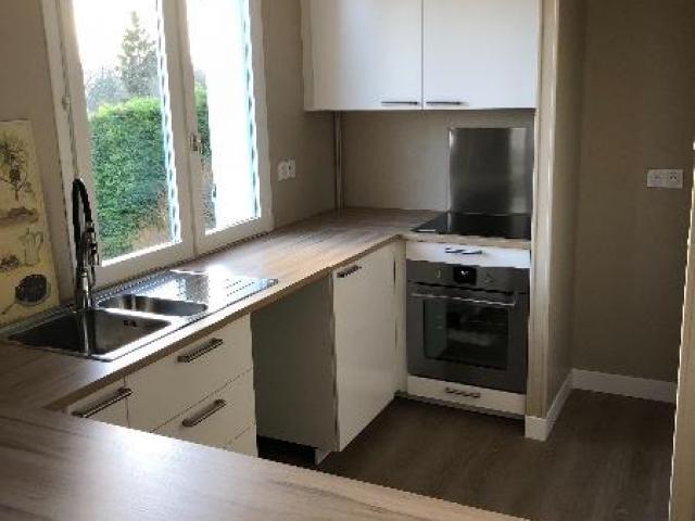Rénovation et agencement d'une cuisine dans une maison à TOUQUES 14800