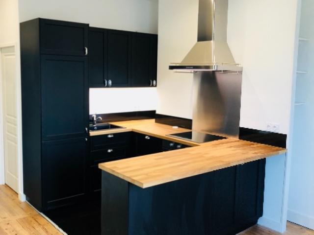 rénovation , décoration et  agencement d'un appartement à DEAUVILLE 14800